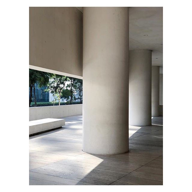 Concrete colonnade  Architecture by #DavidChipperfield (@David.Chipperfield)