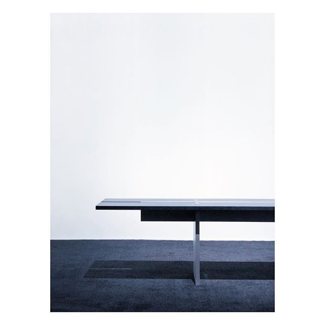 Benchmark  Solid aluminum bench by #WonminPark (@WonminPark)