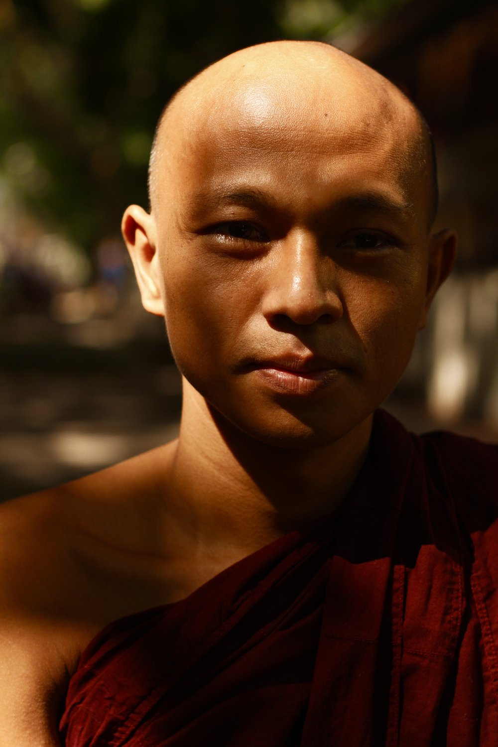 HAPPY  - MONKS OF MYANMAR