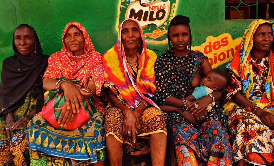 Wodaabe Wives, Guinea.
