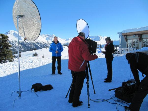 Winter Olympics coverage for Seven Network Australia