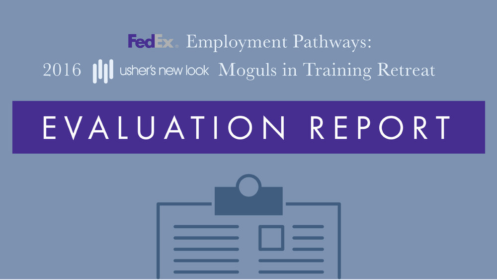 FedEx Evaluation Report - Created evaluation report for FedEx and Usher's New Look coolaboration.