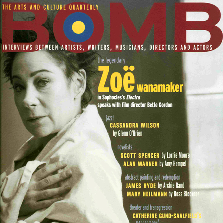 Bomb Magazine #67, Spring 1999