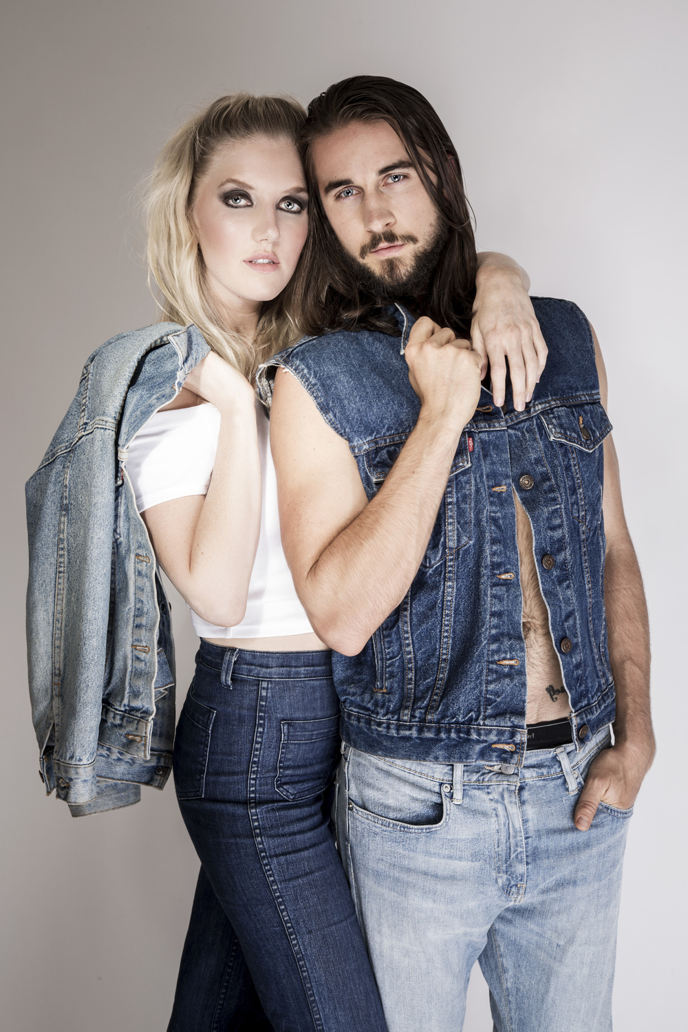 "Photographer: Kelsey Fugere for ""Denim on Denim"""