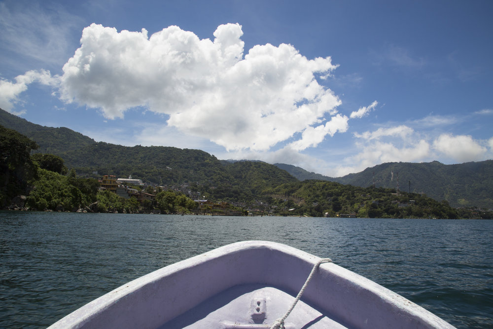lake atitlan by Kelsey Fugere