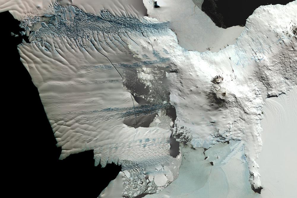 NASA Stack No. 6 (Pine Island Glacier, Mt. Erebus)