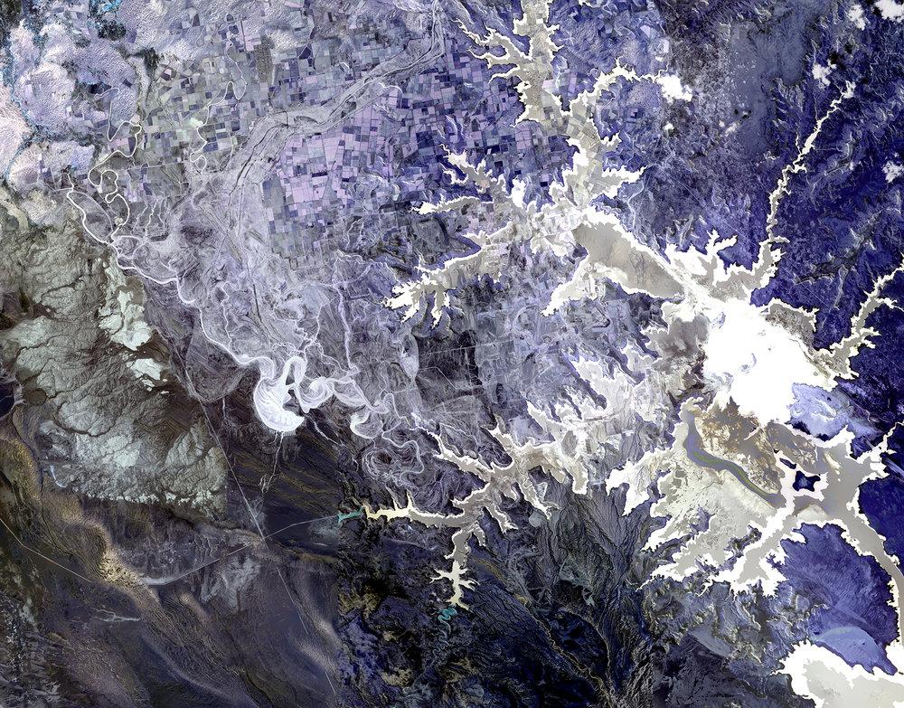 NASA Stack No. 7 (Colorado River Delta, Lake Powell and Alluvial Fan)