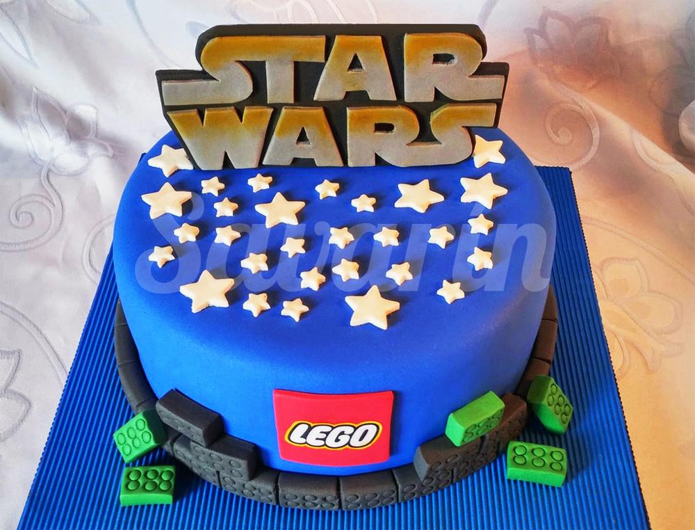 Célèbre Torta de lego star wars – Fotogaléria kulinárskych stránok NQ72