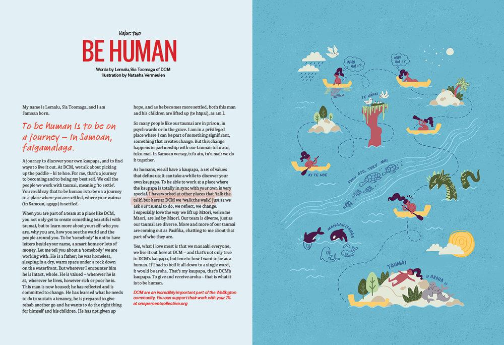 Be Human - Lemalu Sia Toomaga