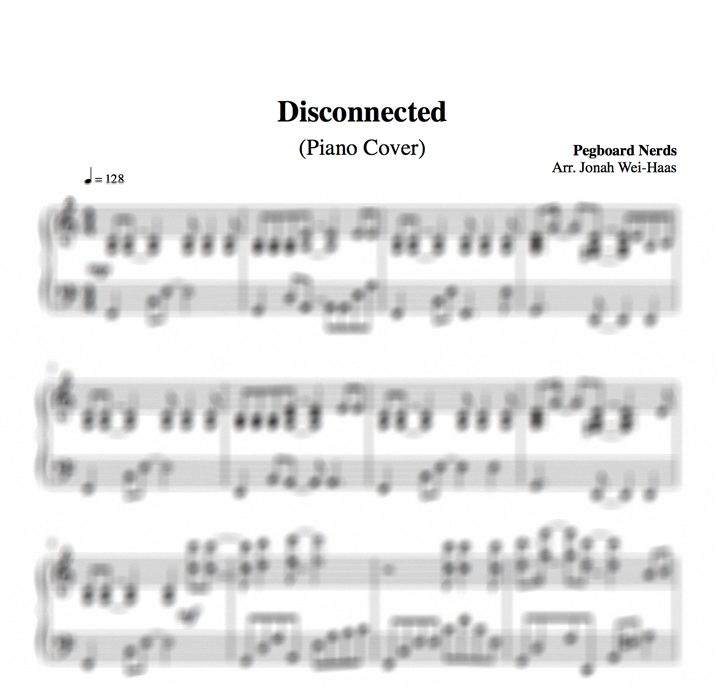 All Music Chords anime sheet music : VIDEO]
