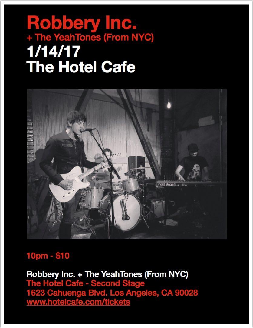 Hotel Cafe 1/14