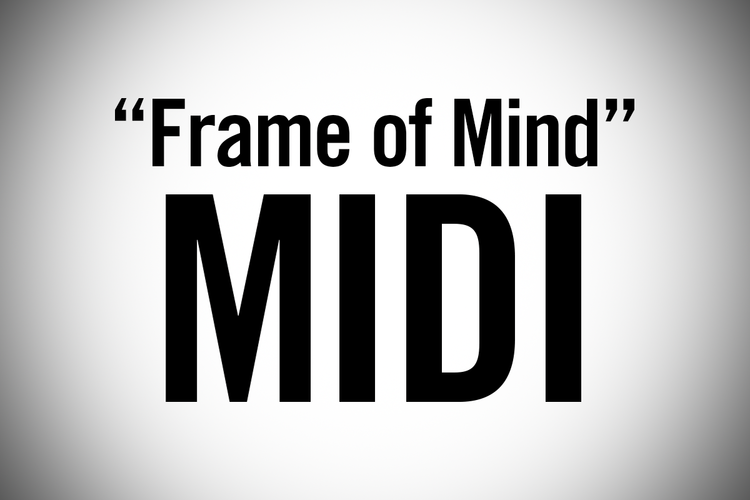 FRAME OF MIND (PIANO COVER MIDI) — Jonah Wei-Haas