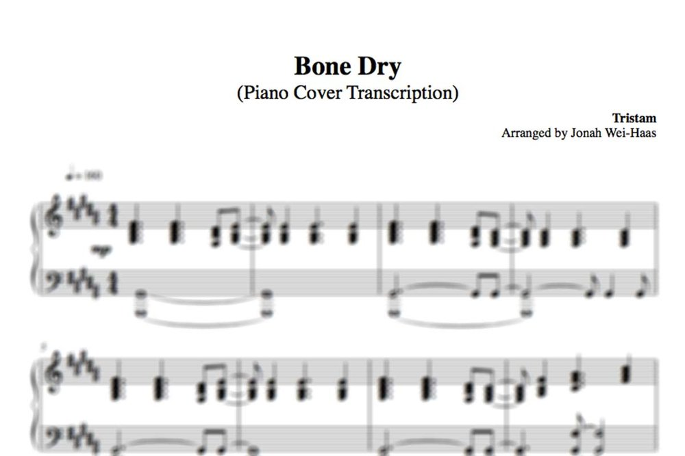 Piano somewhere piano sheet music : FLIGHT (PIANO COVER TRANSCRIPTION) — Jonah Wei-Haas
