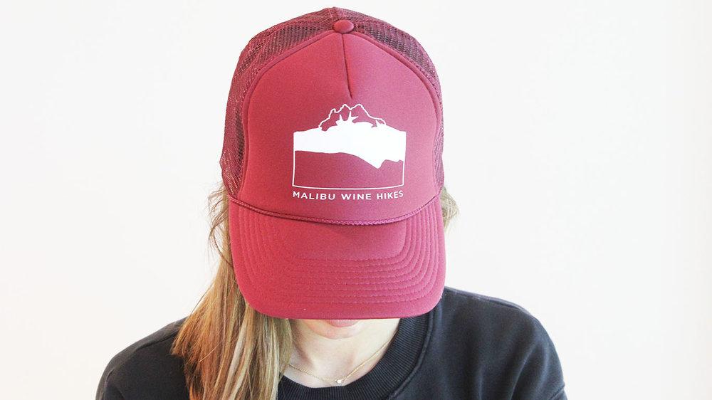 Trucker Hat — Malibu Wine Hikes ccc22e89523