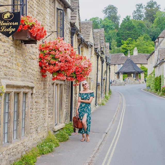 One of the cutest villages I've ever been in ❤️ Castle Combe, Cotswolds