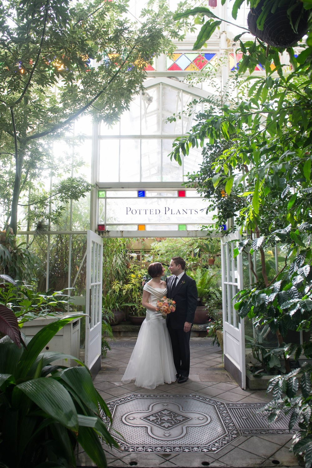 Maria & Alex  |  Conservatory of Flowers