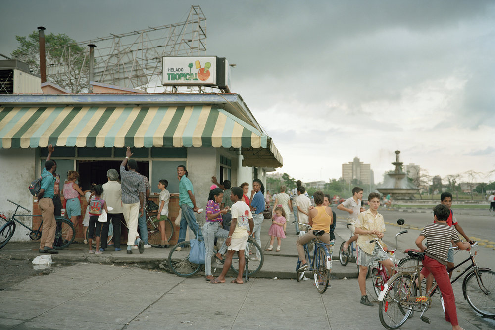Helado-Havana, Cuba