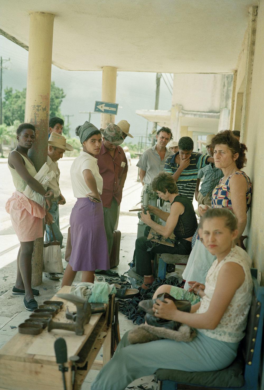 Shoe Repair-Cueto, Cuba