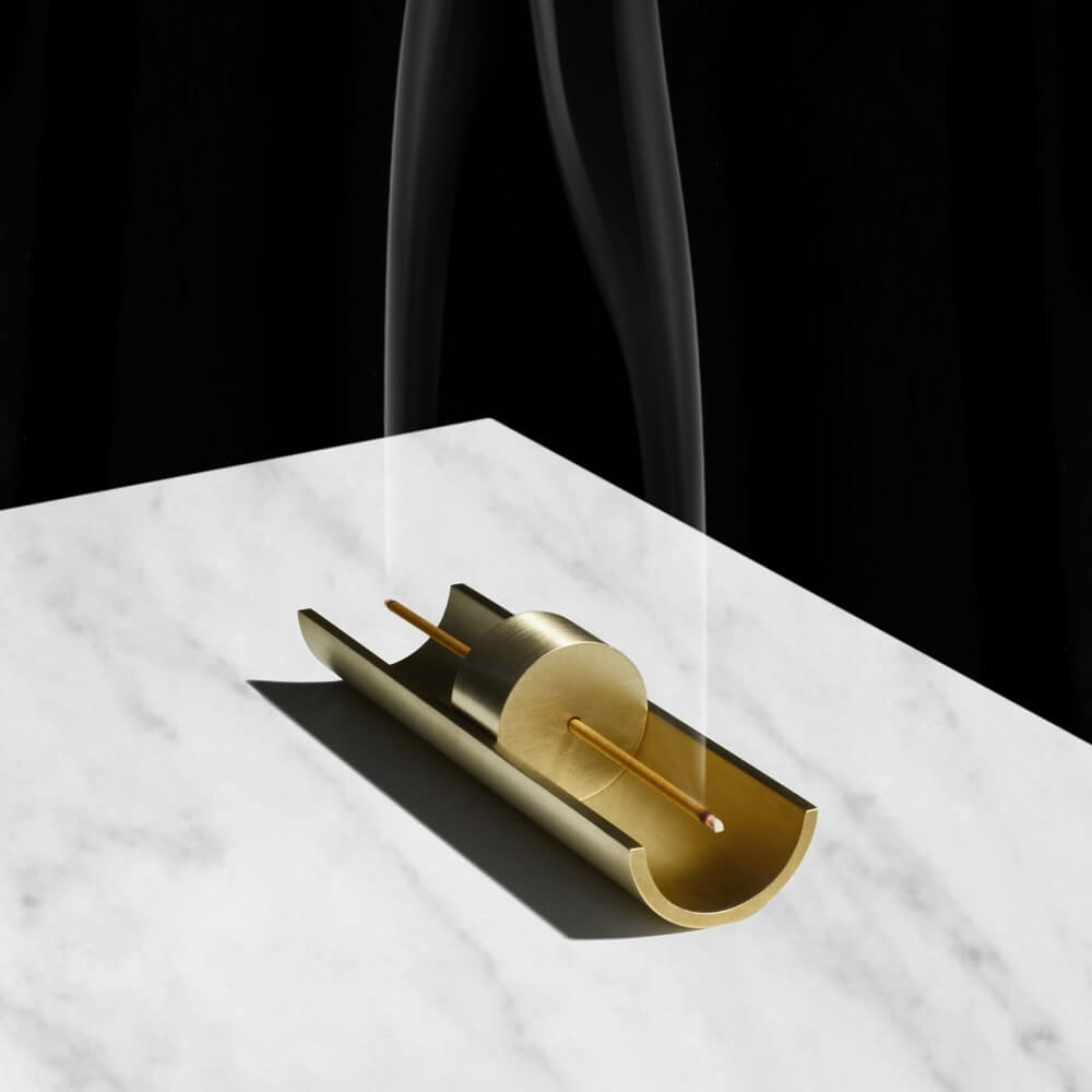 Incense & Solid Brass Burners by Cinnamon Projects