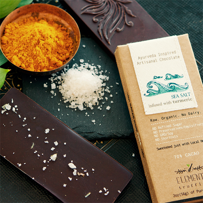 Ayurveda Inspired Chocolate by Elements Truffles