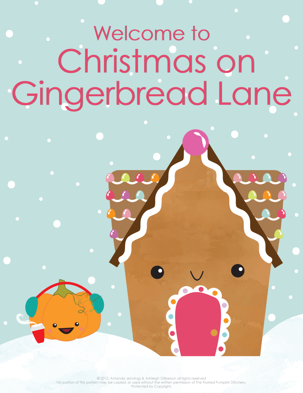 Christmas on Gingerbread Lane - Cover