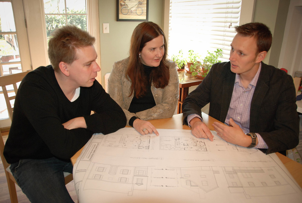 Consultation   It starts with an in-home consultation.  After we discuss your ideas and desires, we provide a proposal outlining our fees.