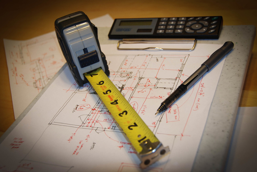 Pre-Design   Before we put pen to paper, Saul Architects will accurately measure existing conditions and produce drawings of all structures, landscape, and other pertinent site elements as well as research building codes and zoning regulations.