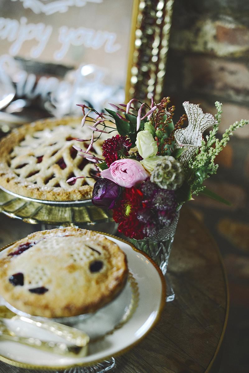 The Moody Romantics Wedding Inspiration Kerry Ann Stokes Cutie Pies NYC and Sweet Thorn Flora