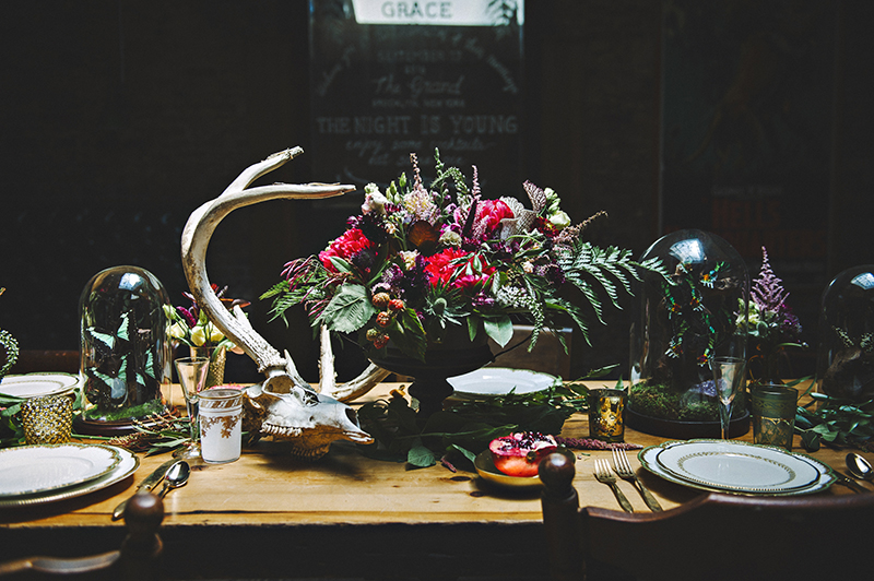 The Moody Romantics Wedding Inspiration Kerry Ann Stokes Florals by Sweet Thorn Flora