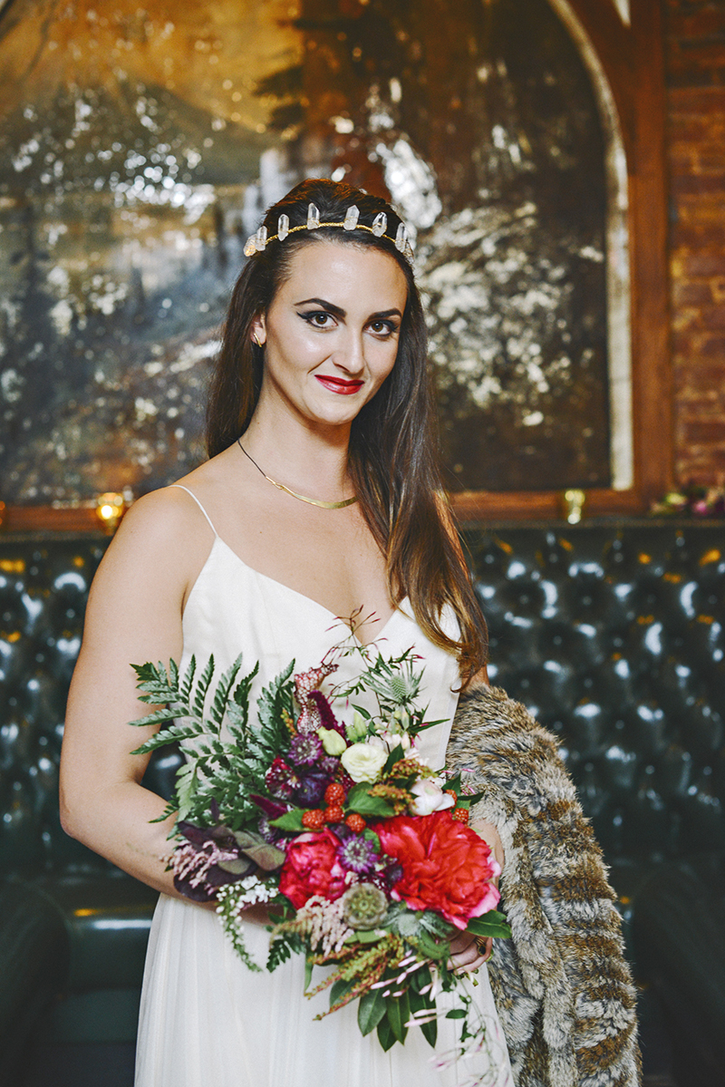 The Moody Romantics Wedding Accessories by Kerry Ann Stokes