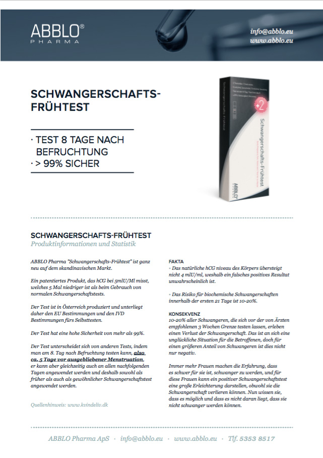 Produktark DE print