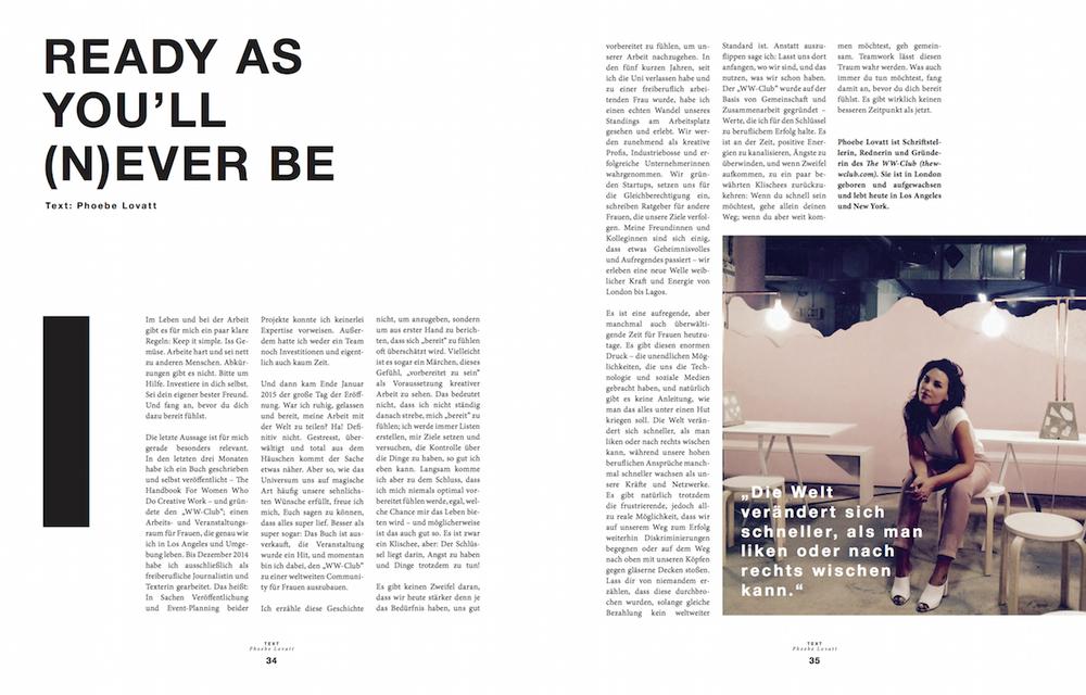 Phoebe Lovatt - Zalando Magazine