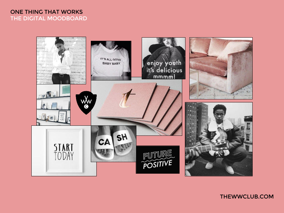 The Working Women's Club - The Digital Moodboard