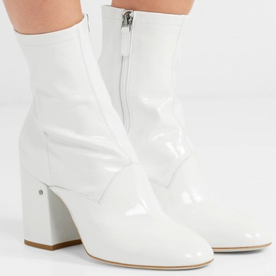 If wanting a  white ankle boot is wrong, I don't wanna be right. (Obv won't be buying thi$$$ pair, though.)