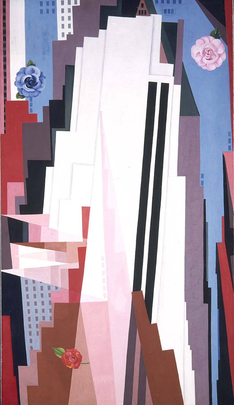 Georgia O'Keeffe's 'Manhattan' on a Monday