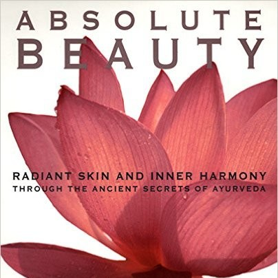 I just rediscovered this  Ayurvedic beauty bible on my bookshelf and I'm loving it all over again.