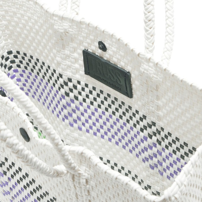 Love this handwoven bag  by Truss NYC (co-founder Elise was a speaker on my Mexico City panel!)