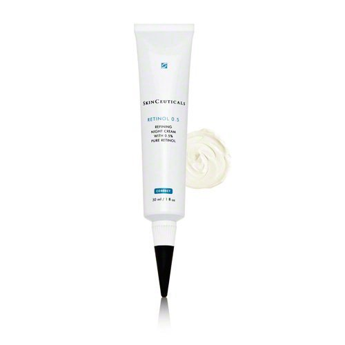 ...and hopefully a lil' more glowy, if I remember to reply this prettyexcellent retinol by Skinceuticals.