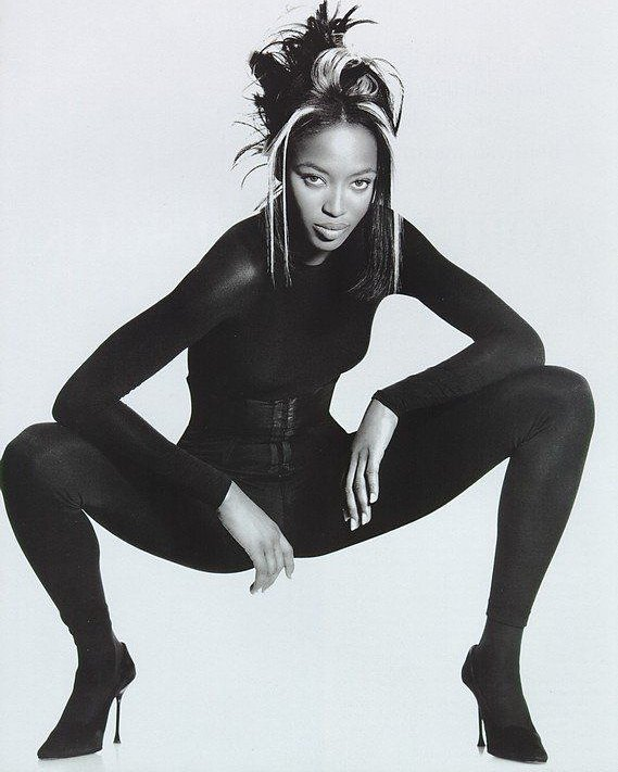 Naomi Campbell by Albert Watson on a Monday.
