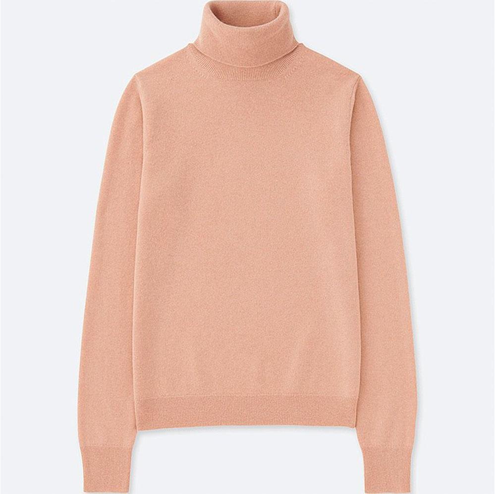 Quick! Uniqlo cashmere is  on sale .
