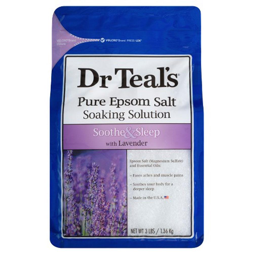 Shout out  Dr Teal's Epsom Salt . We're gonna make it thru winter together.