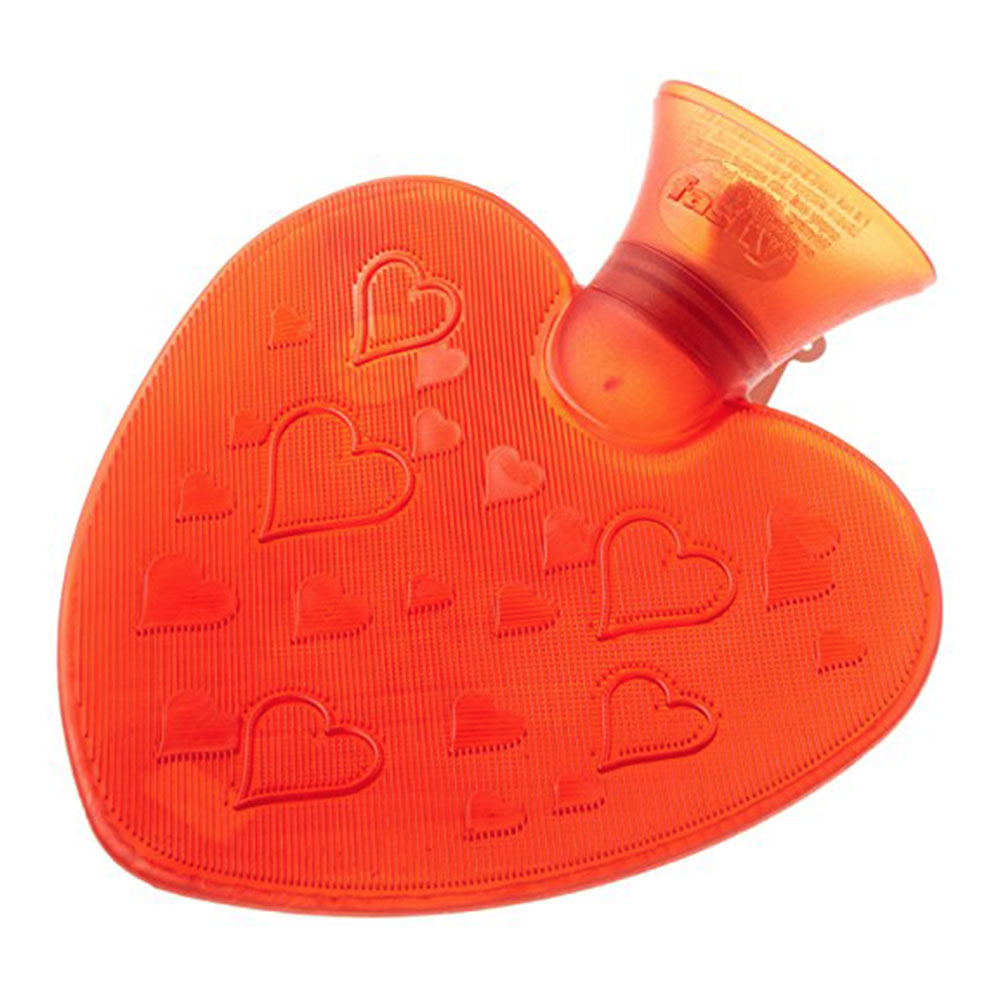 Issa heart-shaped hot water bottle!What's not to love?