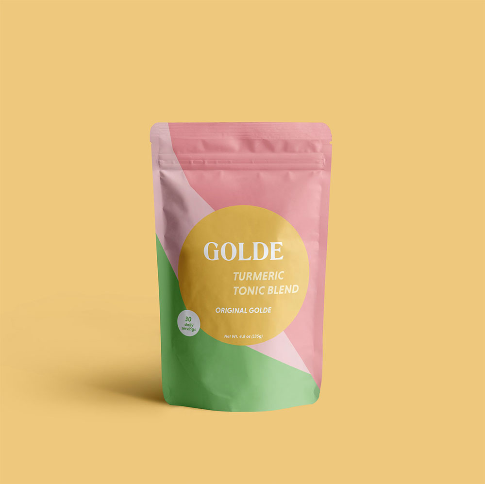 If (like me) you're on a constant quest to drink less coffee, try this delicious  turmeric latte blend .