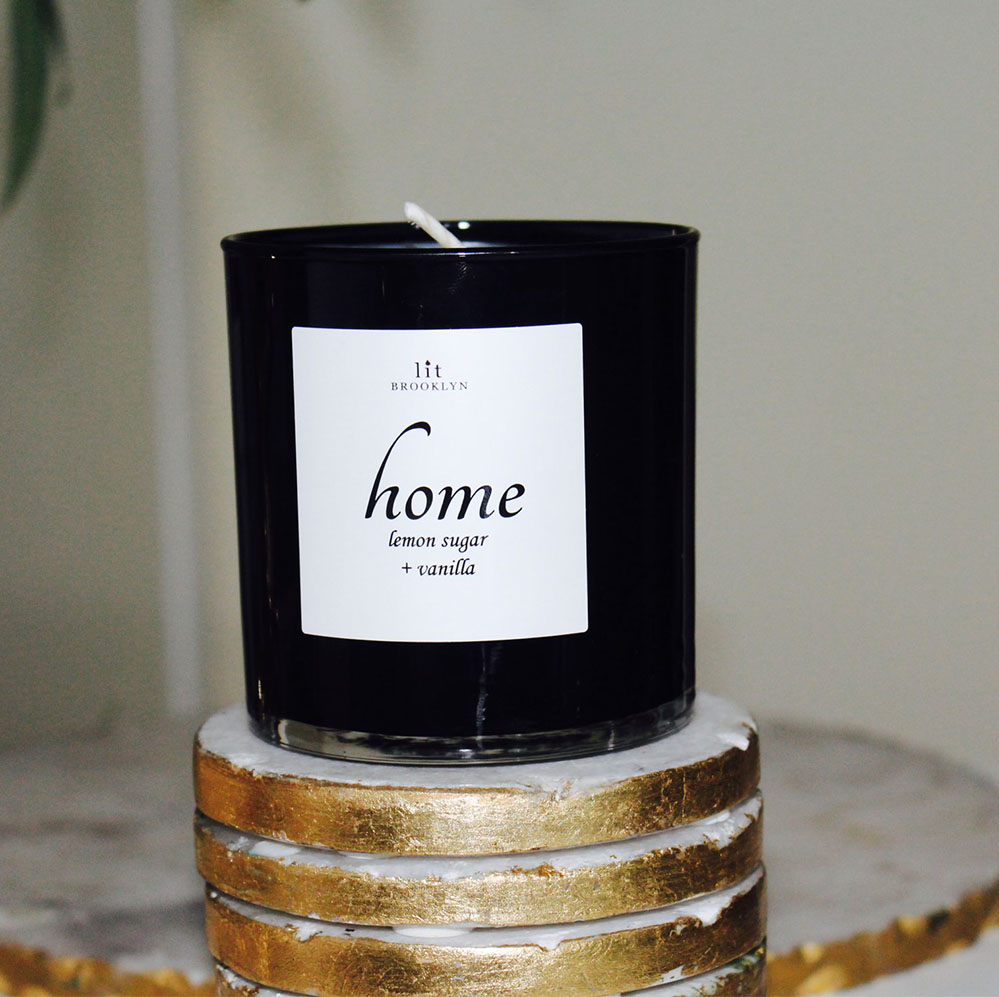Never too many  scented candles . Who doesn't want their home to smell of lemon sugar and vanilla?!