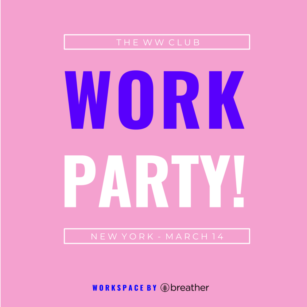 Come and WORK PARTY with us!