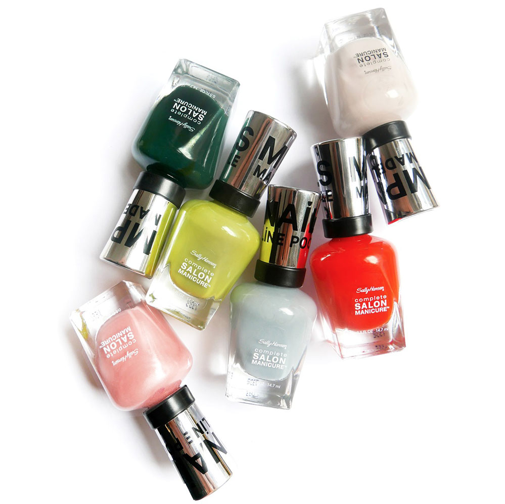My friend  Madeline 's new  nail polish collection  will push you out of your neutral mani comfort zone.