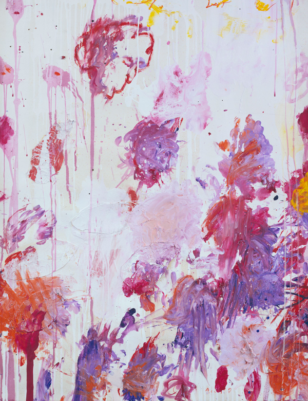 Cy Twombly on a Monday.