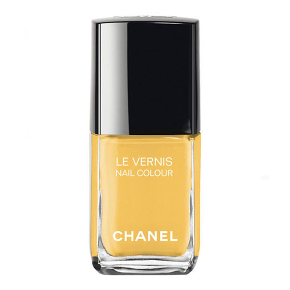Yellow nail polish  feels right, right now.