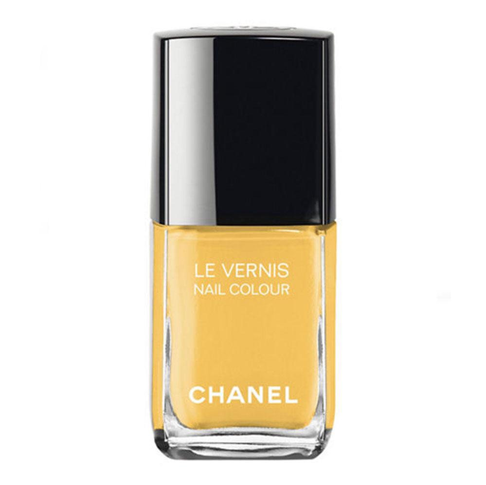 Yellow nail polish feels right, right now.