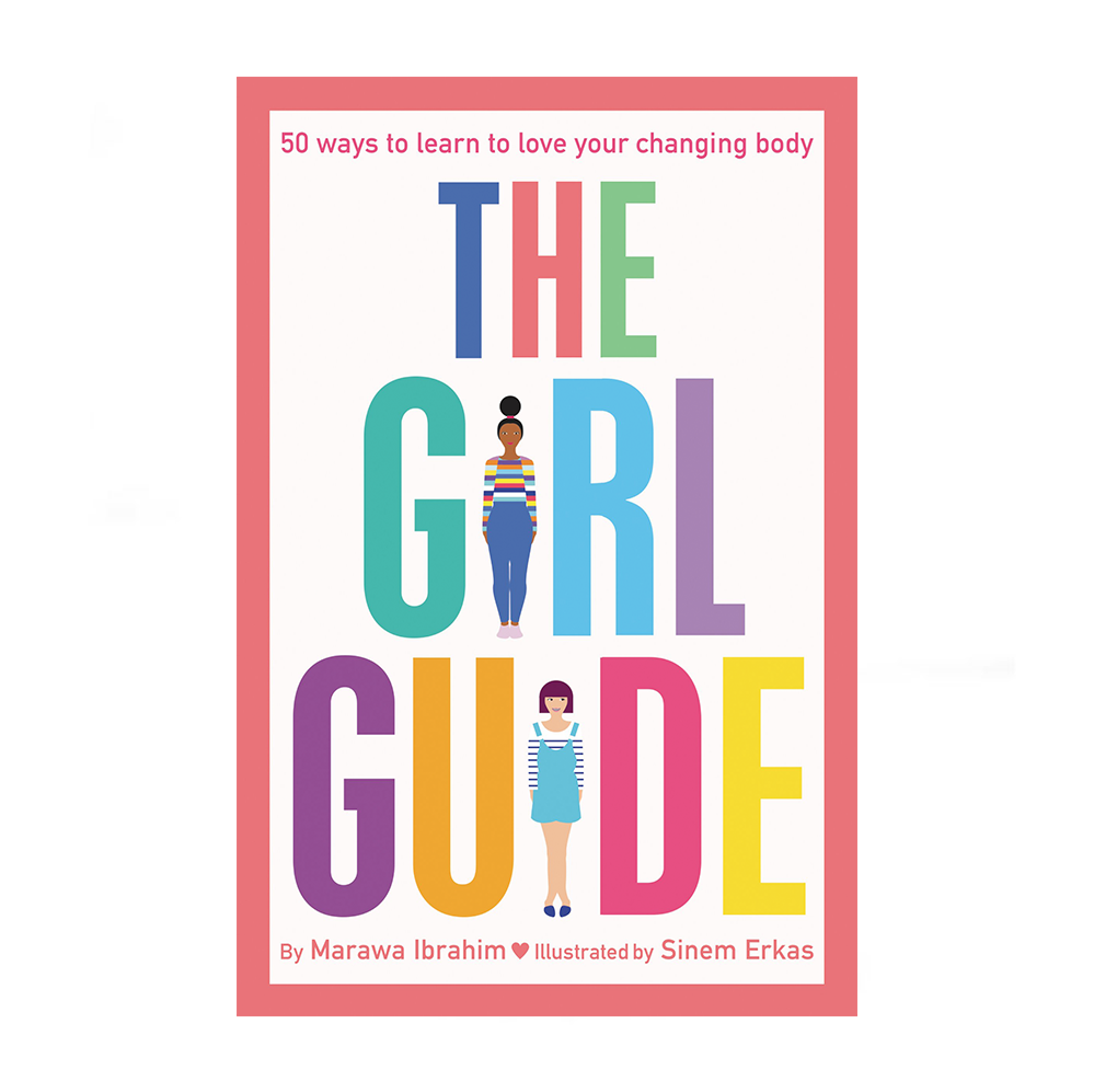 My friend  Marawa 's  Girl Guide  just came out in the US -  buy it for your little sis or cousin.